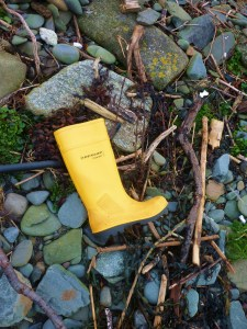 yellow boot